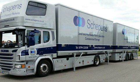 Removal lorry removals to Nancy