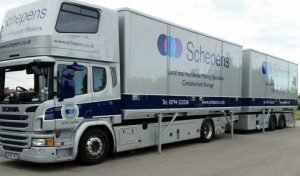 Removal Lorry Furniture Removals to Odense