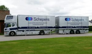 Removal Lorry - European Moves To Sweden