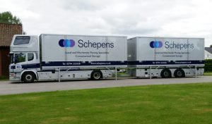 Residential Removals lorry to Paris