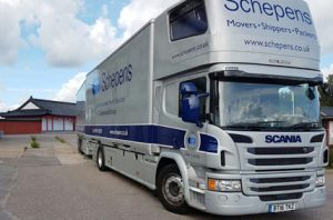 Moving to Dorset Removals Lorry