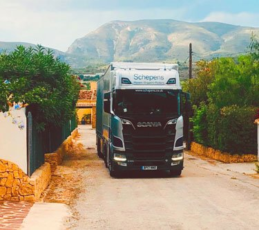 schepens removals in spain