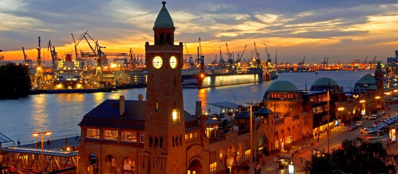 Working in Hamburg